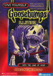 give yourself goosebumps books