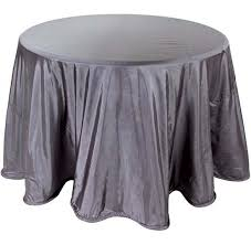 grey table cloth