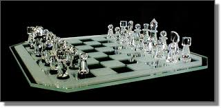 crystal chess boards
