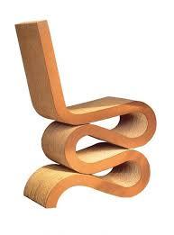 gehry cardboard chairs