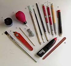 art tools for drawing