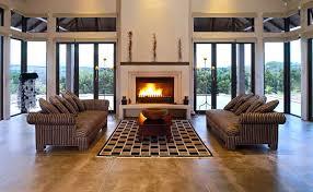 concrete interior floor