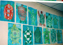 pictures of turtles to color