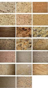 granite color samples