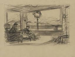 edward hopper drawings