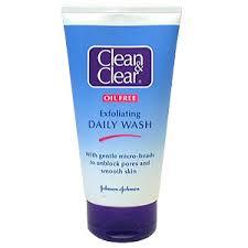 clean n clear face wash