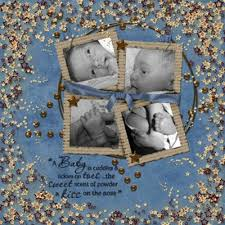 baby scrapbooking layouts