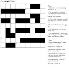 music crosswords