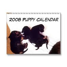 puppy calendar pictures