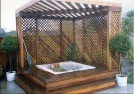 outdoor hot tub designs