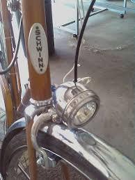 retro bicycle light