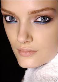 eye make up blue eyes