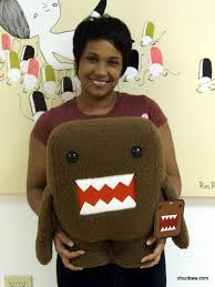 domo kun plush toy