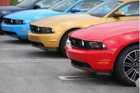 2010 ford mustang colors