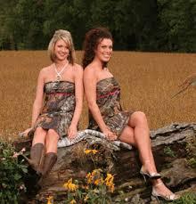mossy oak dresses