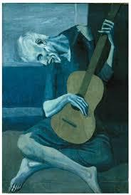pablo picasso old guitarist