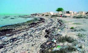 contaminated beaches