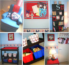 baseball theme rooms
