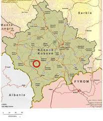 harta kosova