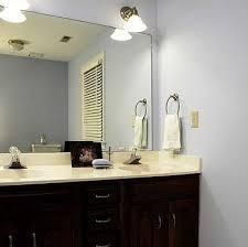 framing bathroom mirror