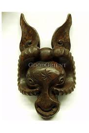 goat head mask