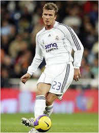 david beckham soccer pictures