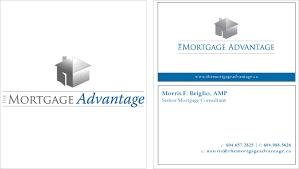 mortgage business card