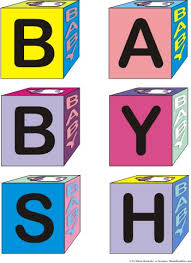 baby block letters