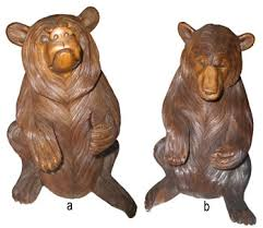wood animal carving
