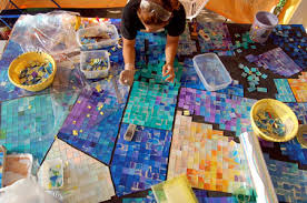 mosaic art work