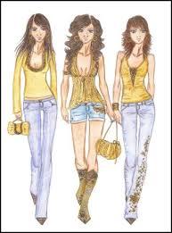 fashion designing clothes