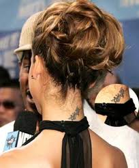 cool neck tattoo