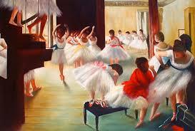 edgar degas ballet paintings