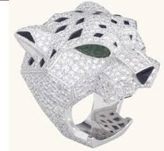 cartier panther rings