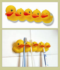 duck toothbrush holder
