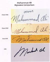 ali signature