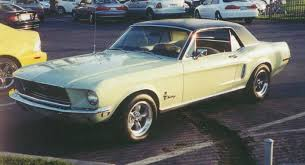68 ford mustang coupe