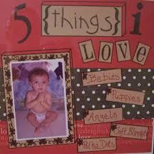 scrapbook love ideas