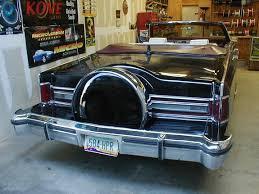lincoln town car convertible