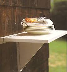 collapsable shelf