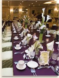 banquet table settings