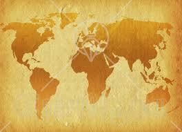 paper world map