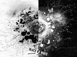 black and white art pictures