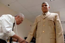 navy khaki uniform