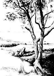 black white paintings