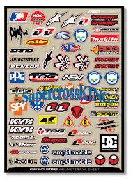 motocross sticker kit