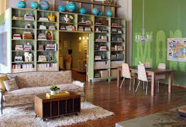 custom built shelves