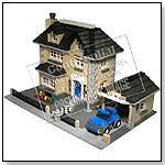 lego model townhouse