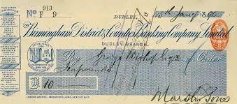 cheque design