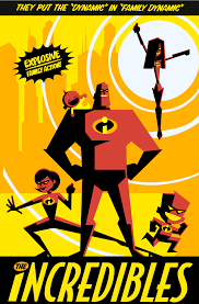 incredibles posters